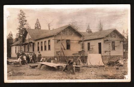 Image for Building the Hospital at Invermere, BC: 1914
