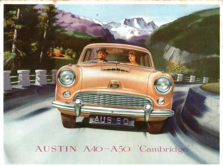 Image for Austin A40 - A50 'Cambridge': North American Sales Brochure