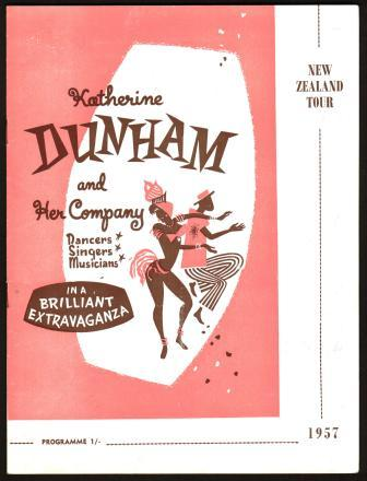 Image for Katherine Dunham Memorabilia, Mid-Late 1950s
