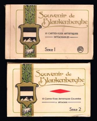 Image for Souvenir de Blankenberghe, Belgium: Two different Souvenir Folders of Postcard Views.