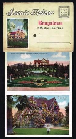 Scenic Folder; Bungalows of Southern California