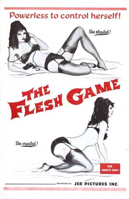 Image for The Flesh Game [Movie Poster]