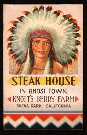 Knott's Berry Farm and Ghost Town: Steak House in Ghost Town