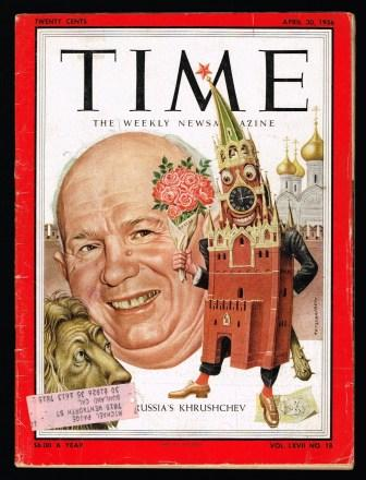 Image for Time: The Weekly Newsmagazine, April 30, 1956