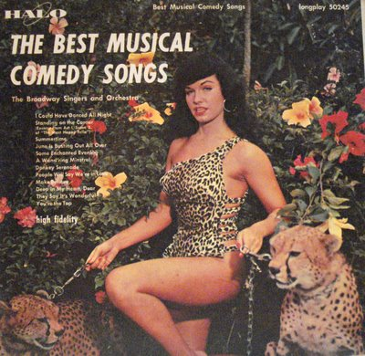 Image for The Best Musical Comedy Songs