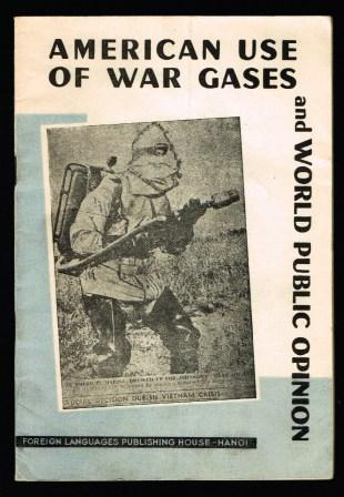 Image for American Use of War Gases and World Public Opinion