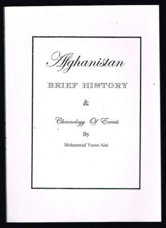 Image for Afghanistan: Brief History & Chronology of Events