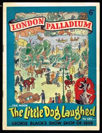 Image for The Little Dog Laughed; George Black's Show Shop of 1939