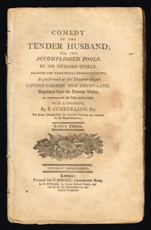 Image for Comedy of the Tender Husband; or, the Accomplished Fools