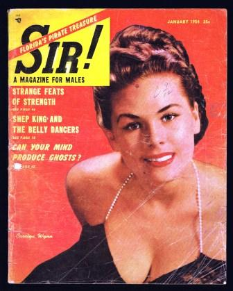 Image for Sir! A Magazine for Males; January 1954
