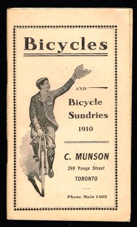 Image for Bicycles and Bicycle Sundries, 1910