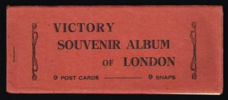 Image for Victory Souvenir Album of London, Late 1940s