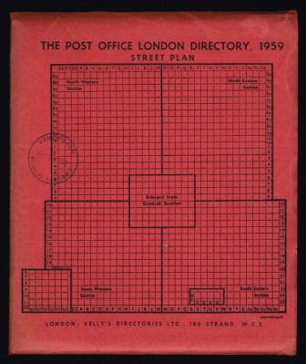 Image for The Post Office London Directory, 1959: Street Plan