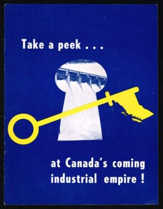 Image for Take a Peek. . . at Canada's Coming Industrial Empire
