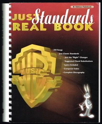 Image for Just Standards Real Book; Bb Edition Fakebook