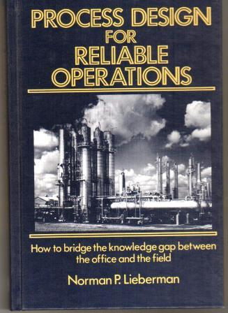Image for Process Design for Reliable Operations