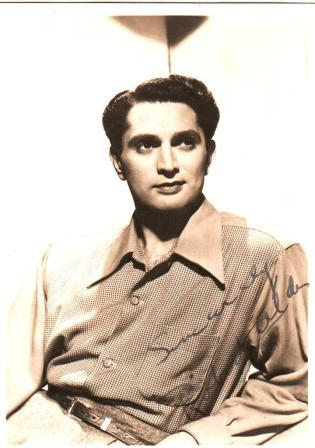 Image for Signed Photograph of Robert Alda