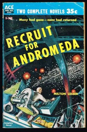Image for Recruit for Andromeda / The Plot Against Earth