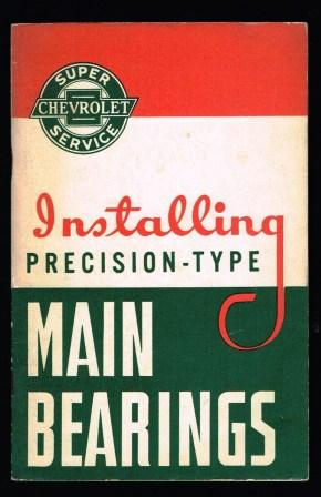 Image for Installing Precision-type Main Bearings