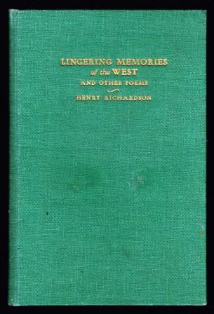 Image for Lingering Memories of the West, and Other Poems