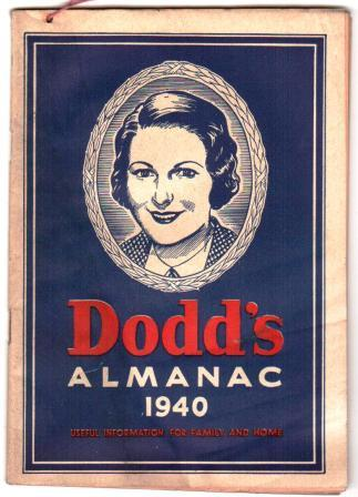 Image for Dodd's Almanac 1940