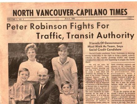 Image for North Vancouver - Capilano Times: July 1968