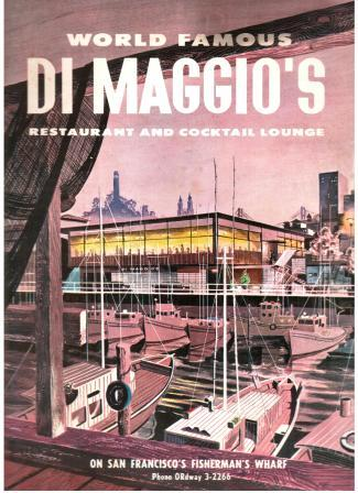 Image for World Famous Di Maggio's Restaurant and Cocktail Lounge Menu, 1959