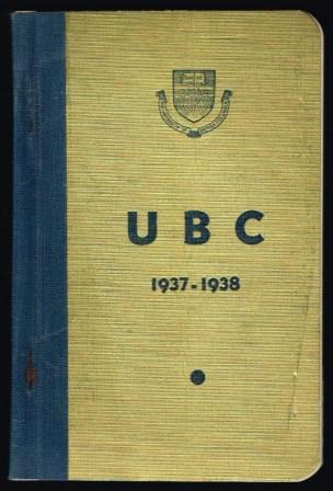 Image for The University of British Columbia Student Handbook, 1937-1938