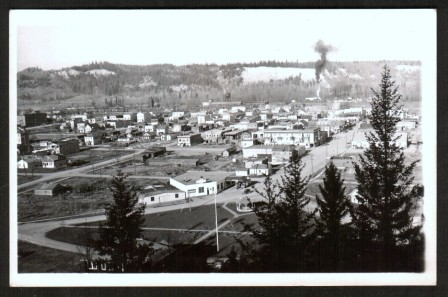 Image for Real Photo Postcard of Prince George, BC, 1930s