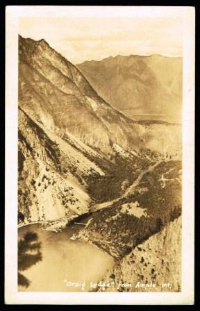 Image for Craig Lodge, from Ample Mountain [RPPC, Seton Lake, B. C.]