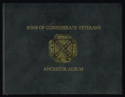 Image for Sons of Confederate Veterans ancestor Album