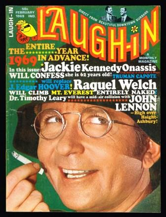 Image for Laugh-In: February 1969, Vol 1, No 4