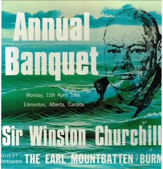 Image for Annual Banquet of the Sir Winston Churchill Society, 1966