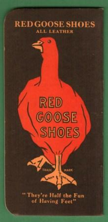 Image for Complimentary Advertising Notebook from Red Goose Shoes