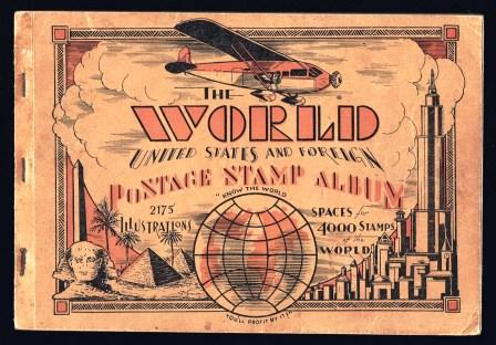 Image for The World, United States and Foreign Postage Stamp Album; 1936