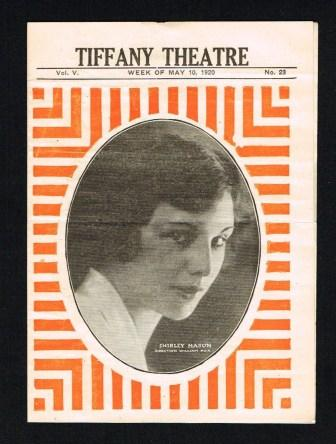 Image for Tiffany Theatre, Bronx, New York: Program for Week of May 10, 1920