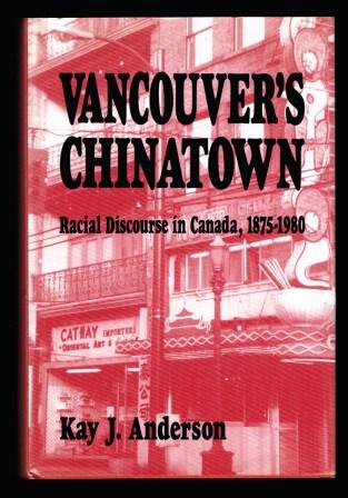 Image for Vancouver's Chinatown: Racial Discourse in Canada, 1875-1980