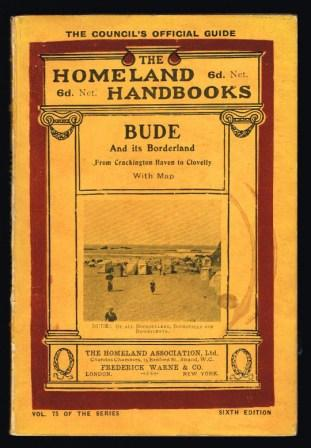 Image for Bude and Its Borderland; A Handbook for Visitors and Residents