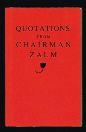 Image for Quotations from Chairman Zalm