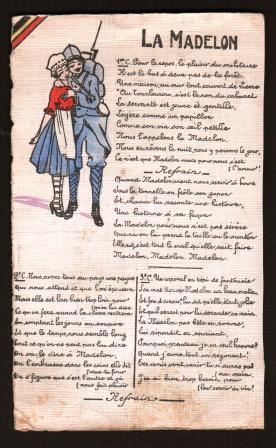 Image for La Madelon: Popular French Song from the First World War